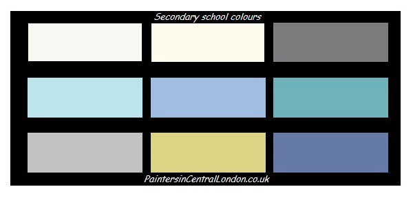 Colours for classrooms